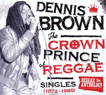 Dennis Brown/CROWN PRINCE OF REGGAE LP