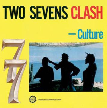 Culture/TWO SEVENS CLASH  LP