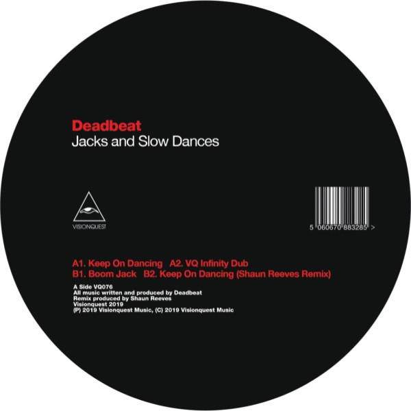 """Deadbeat/JACKS AND SLOW DANCES EP 12"""""""