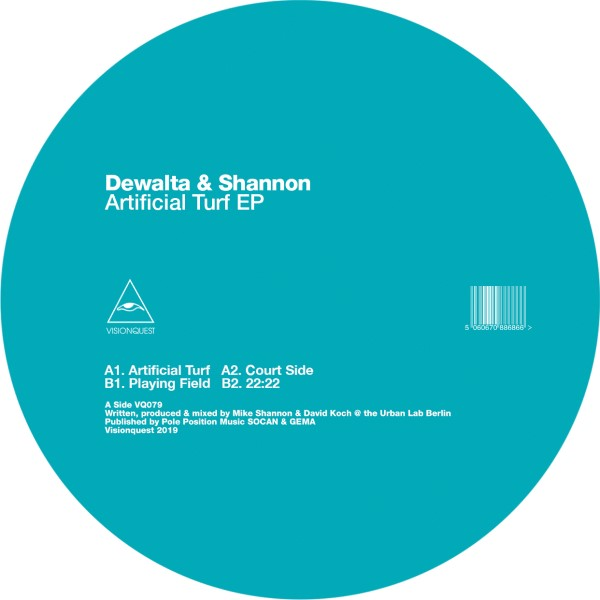 "Dewalta & Shannon/ARTIFICIAL TURF EP 12"""