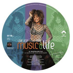 "Louie Vega/MUSIC & LIFE (PIC DISC) 12"""