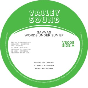 Savvas/WORDS UNDER THE SUN EP 12""