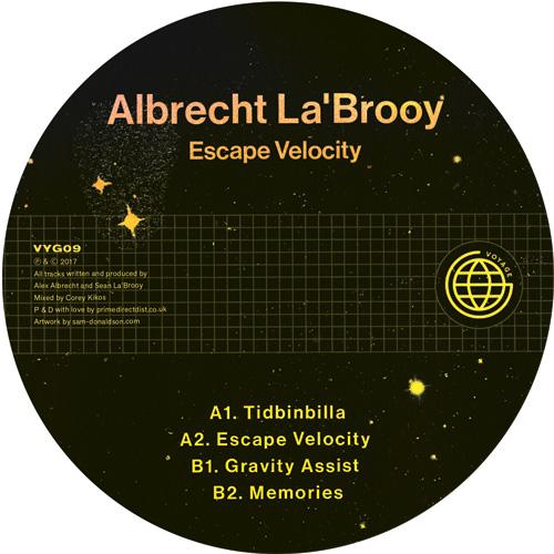 """Albrecht La'Brooy/ESCAPE VELOCITY 12"""""""