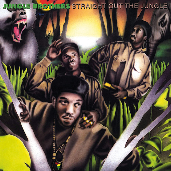 """Jungle Brothers/STRAIGHT OUT THE.. 7"""""""