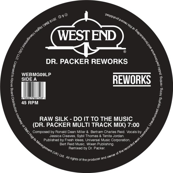 Dr. Packer/WEST END REWORKS 12""