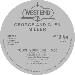 """George & Glenn Miller/TOUCH YOUR... 12"""""""