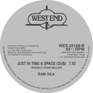 """Raw Silk/JUST IN TIME 12"""""""