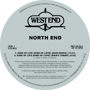 North End/KIND OF LIFE (MAW RMX'S) 12""
