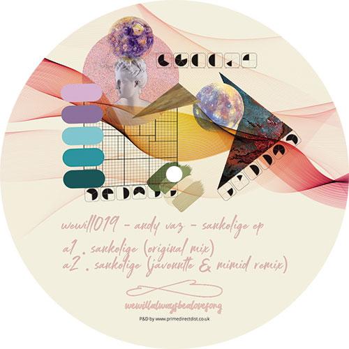 "Andy Vaz/SANKOLIGE EP 12"""