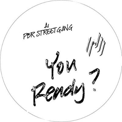 """PBR Streetgang/YOU READY WHITE VINYL 12"""""""