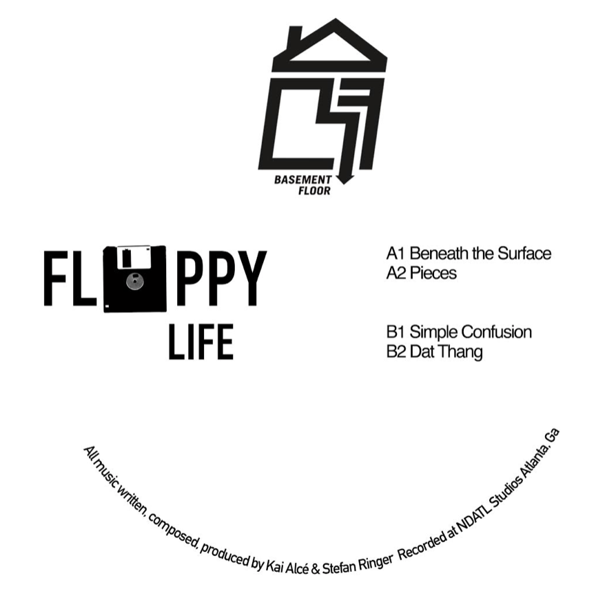 "Floppy Life/BENEATH THE SURFACE EP 12"""