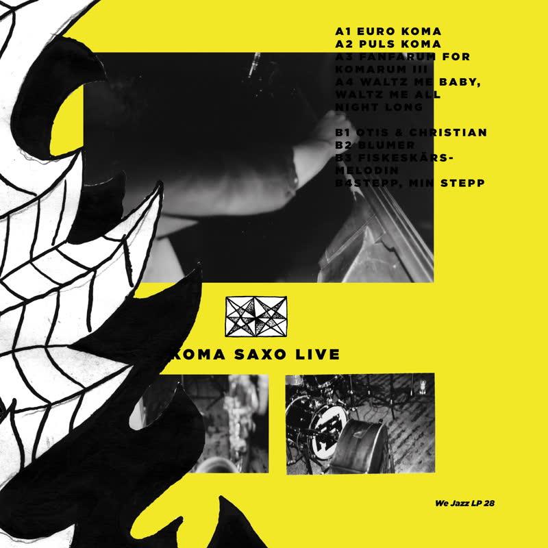 Petter Eldh & Koma Saxo/LIVE LP
