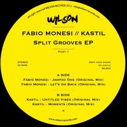 """Fabio Monesi & Kastil/SPLIT GROOVES 12"""""""