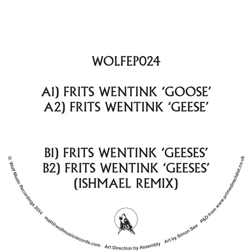 """Frits Wentink/WOLF EP 24 12"""""""
