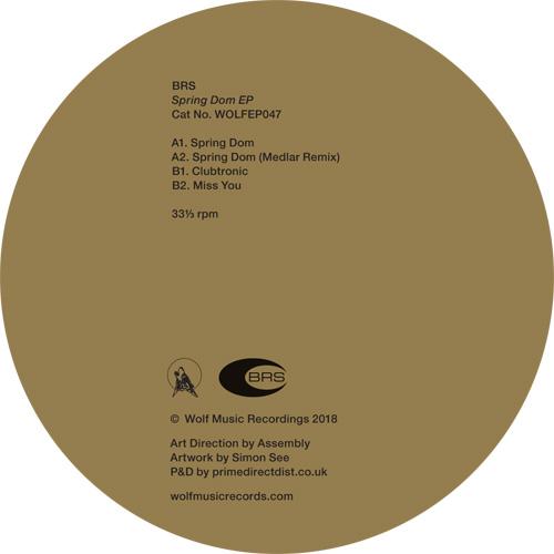 "BRS/SPRING DOM EP 12"""