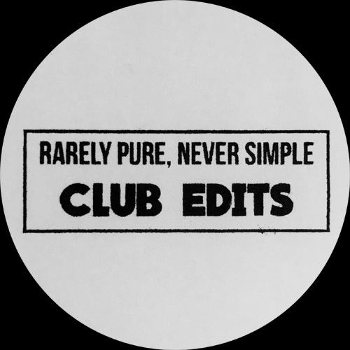 "Frits Wentink/RARELY... CLUB EDITS 12"""