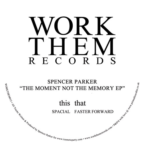 """Spencer Parker/SPACIAL 12"""""""