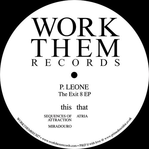 "P.Leone/THE EXIT 8 EP 12"""
