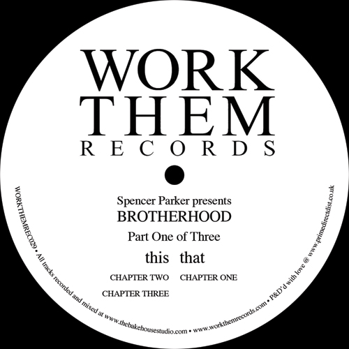 "Brotherhood/PART ONE OF THREE 12"""