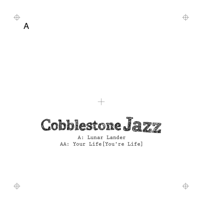 """Cobblestone Jazz/LUNAR LANDER 12"""""""