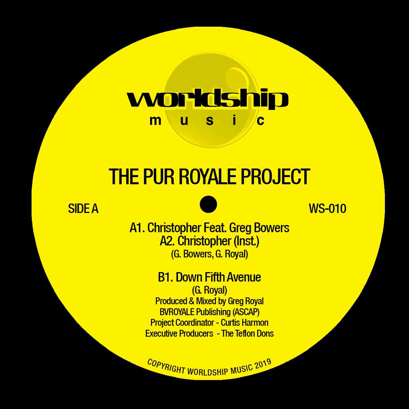 Pur Royale/PUR ROYALE PROJECT 12""