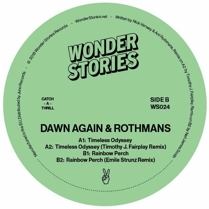 """Dawn Again & Rothmans/TIMELESS... 12"""""""