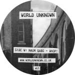 """World Unknown/VOL. 1 12"""""""