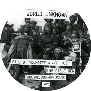 "Youngtee & Joe Hart/WORLD UNKNOWN 7 12"""