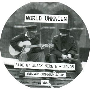 "Black Merlin & White Lodge/WORLD UNK 12"""