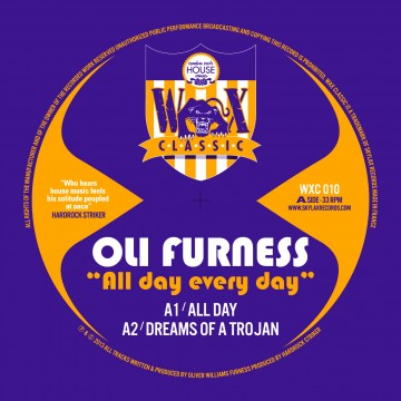 Oli Furness/ALL DAY EVERY DAY 12""