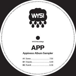 "App/APPINESS (VINYL SAMPLER) 12"""