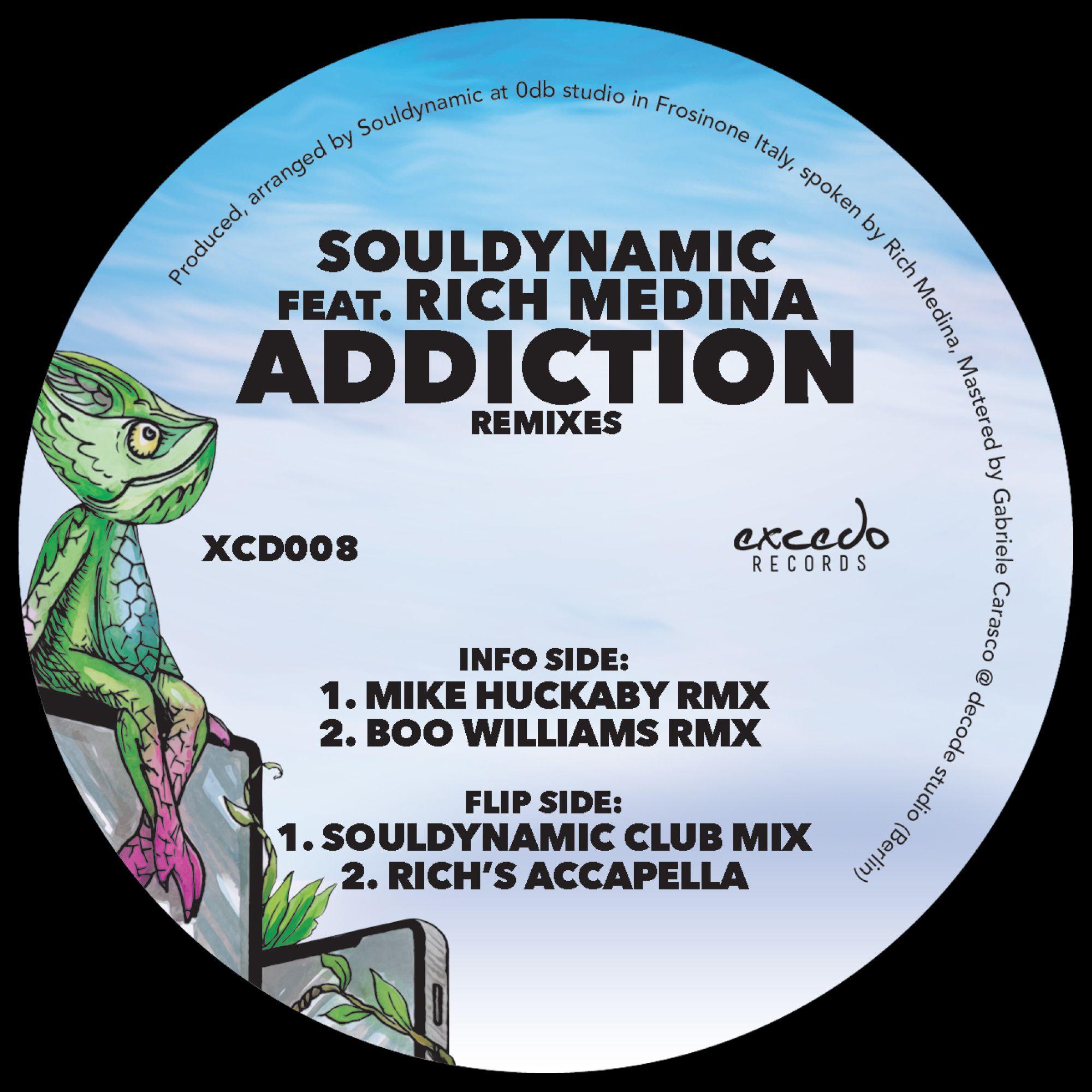 "Souldynamic/ADDICTION HUCK & BOO RMX 12"""