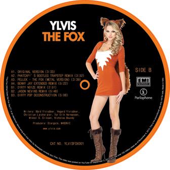"Ylvis/THE FOX EP 12"""