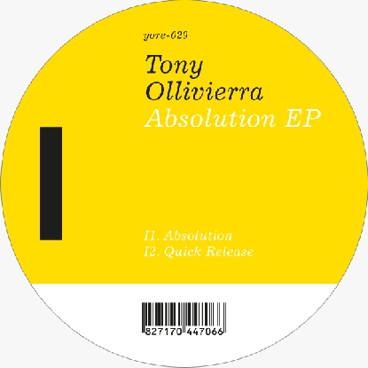 Tony Olliviera/ABSOLUTION EP 12""