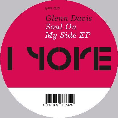 """Glenn Davis/SOUL ON MY SIDE 12"""""""