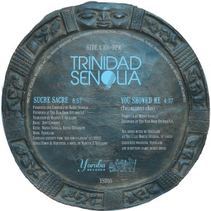 Trinidad Senolia/POSTCARDS FROM 12""