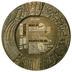 "DJ Fudge & Hallex M/SIMPATICO 12"""