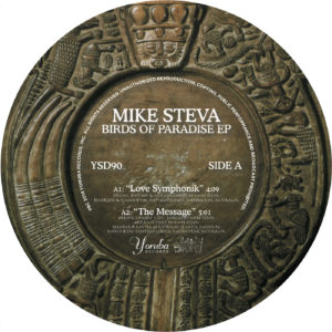 "Mike Steva/BIRDS OF PARADISE EP 12"""