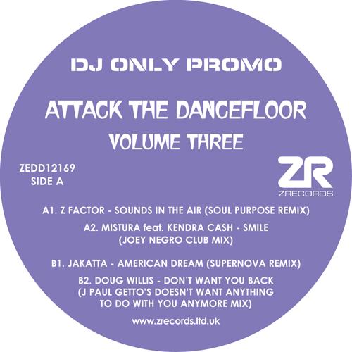 "Various/ATTACK THE DANCEFLOOR VOL 3 12"""