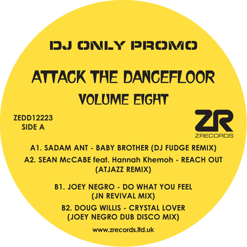 Various/ATTACK THE DANCEFLOOR VOL 8 12""