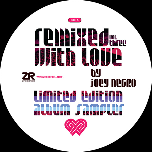 """Joey Negro/REMIXED WITH LOVE VOL. 3 12"""""""