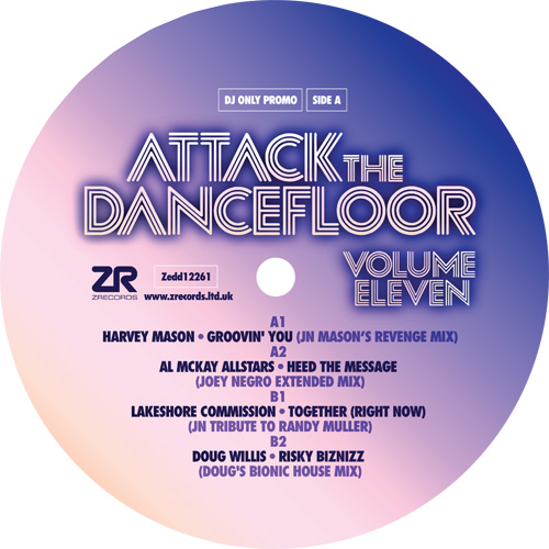 Various/ATTACK THE DANCEFLOOR VOL 11 12""