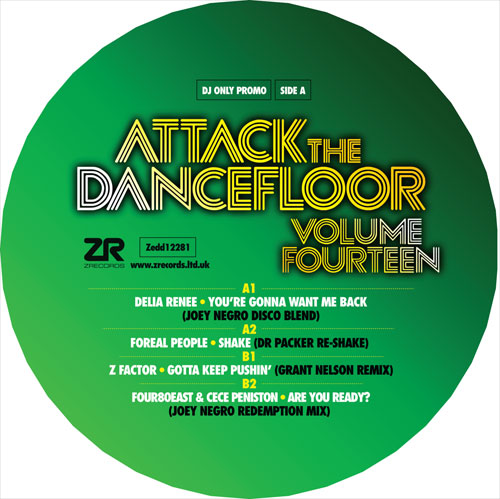 Various/ATTACK THE DANCEFLOOR VOL 14 12""
