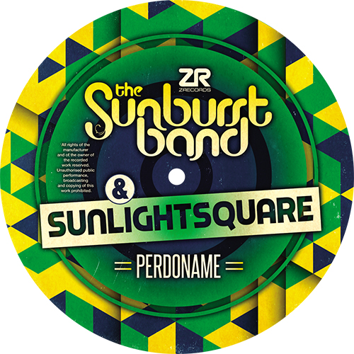 "Sunburst Band/PERDONAME 12"""