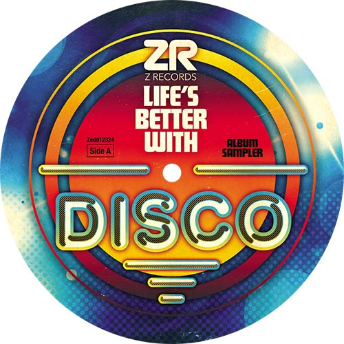 """Various/LIFE'S BETTER WITH DISCO 12"""""""