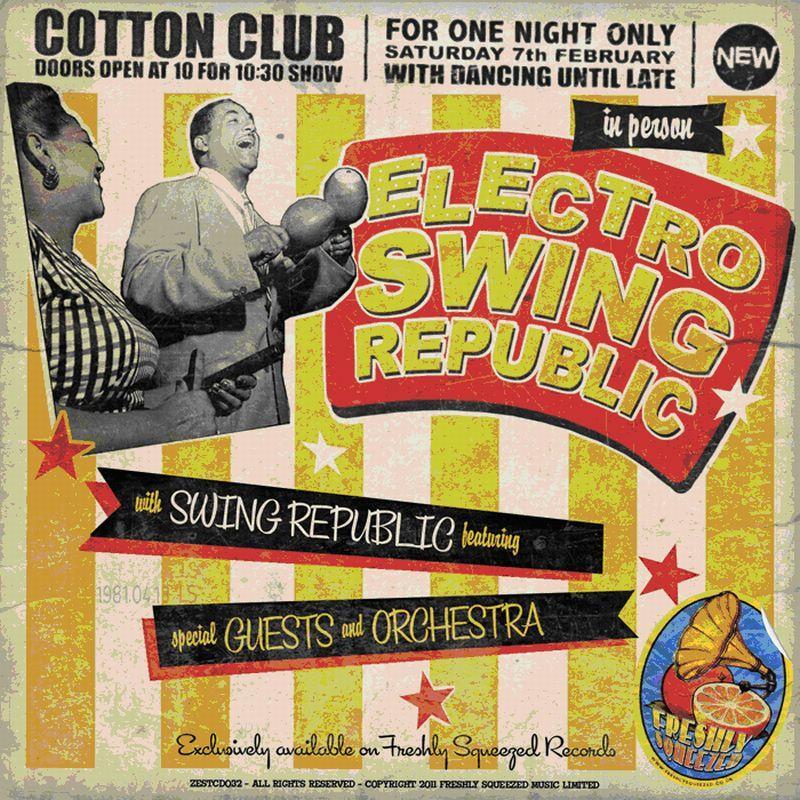 Swing Republic/ELECTRO SWING REPUBLIC CD