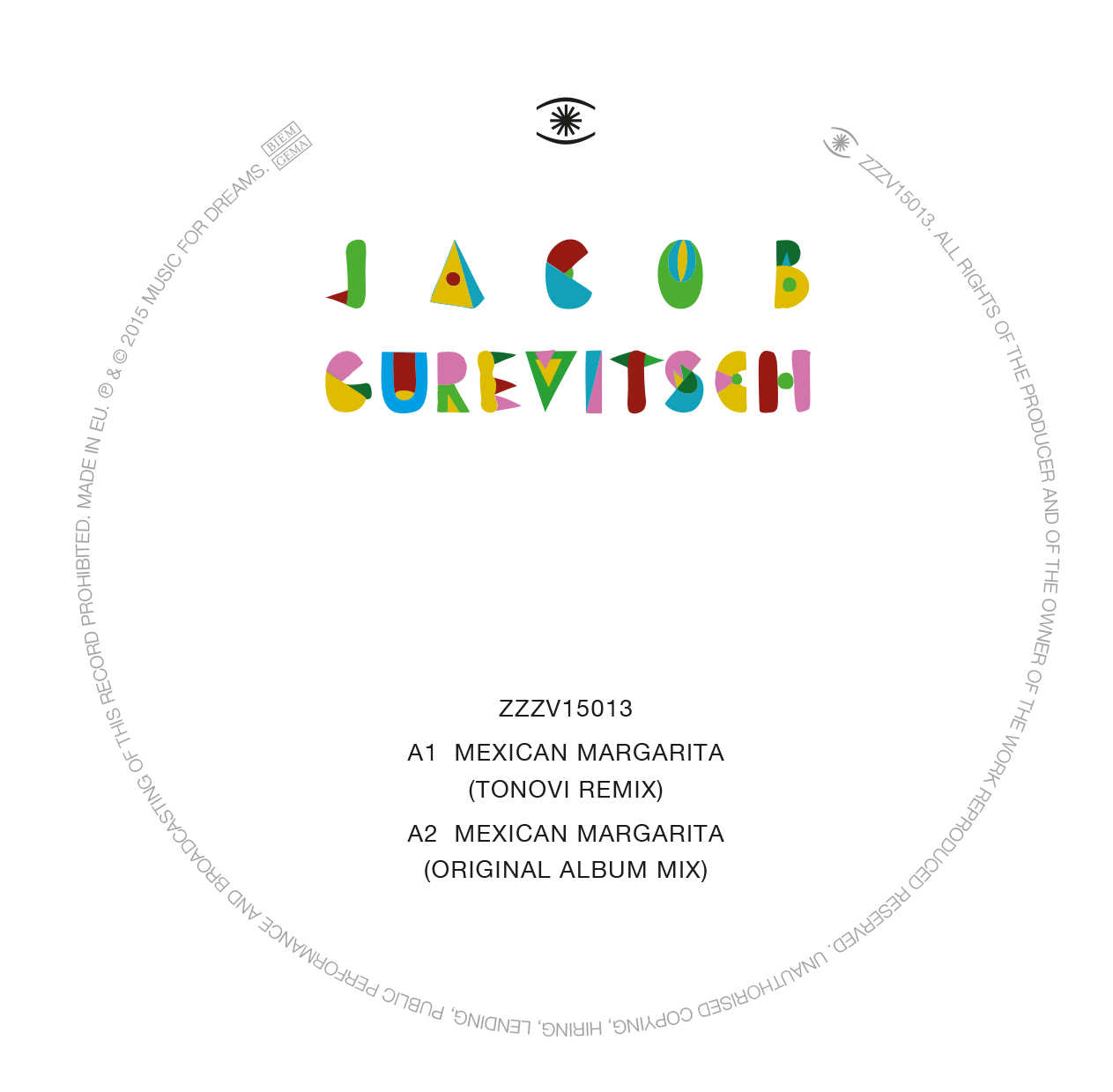 Jacob Gurevitsch/MEXICAN MARGARITA 12""