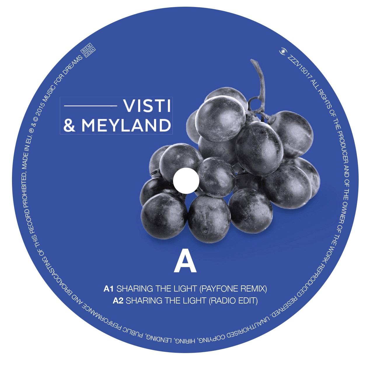 "Visti & Meyland/SHARING THE LIGHT 12"""