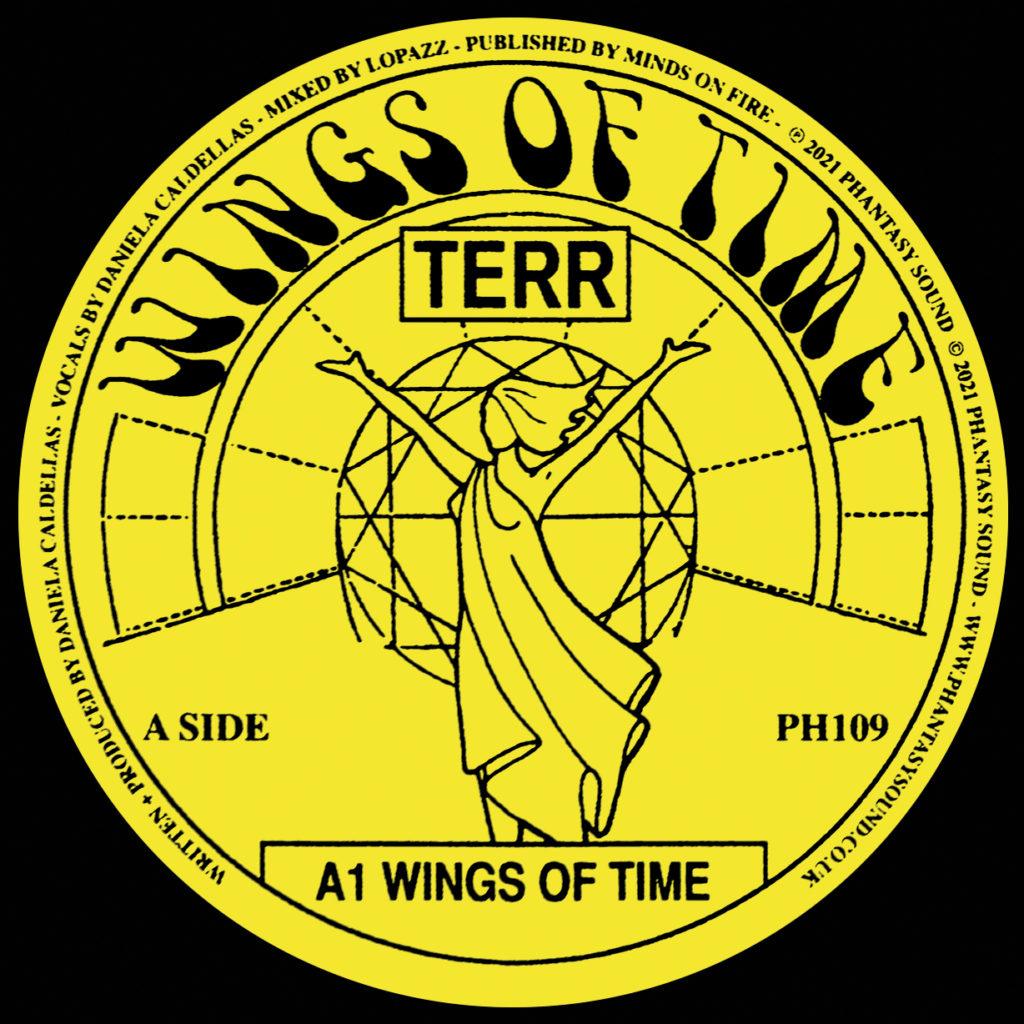 "Terr/WINGS OF TIME 12"""