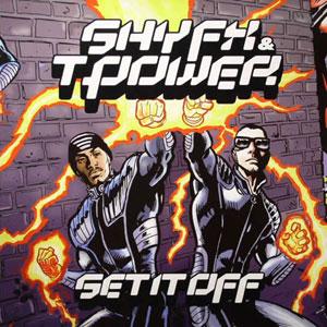Shy FX & T Power/SET IT OFF 4LP